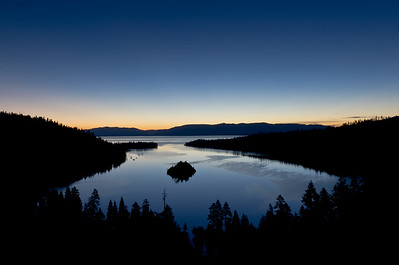 """Emerald Bay Sunrise"" Lake Tahoe, California"
