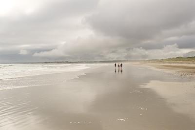 """""""Walking the Beach"""" Horseneck Beach, Massachusetts"""