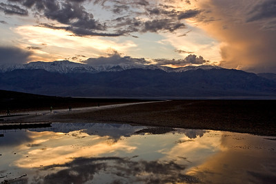 Sunset at Badwater-2