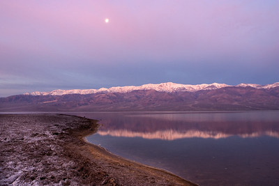 Sunrise over Badwater-2