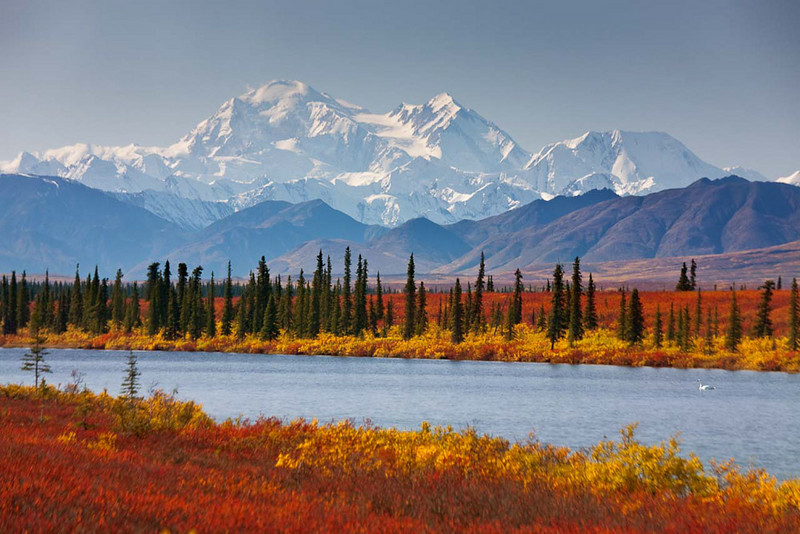 Foothills of Mt McKinley