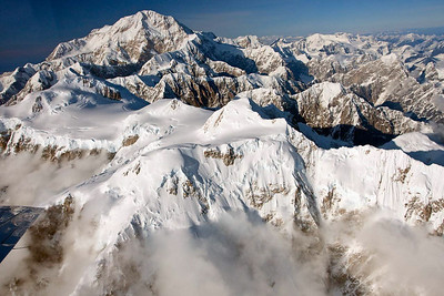 Ariel View of the South Peak, Denali