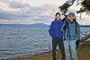 John and I at Lake Yellowstone