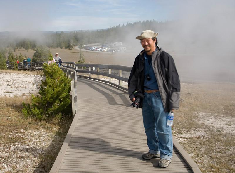 Chuan at Yellowstone NP