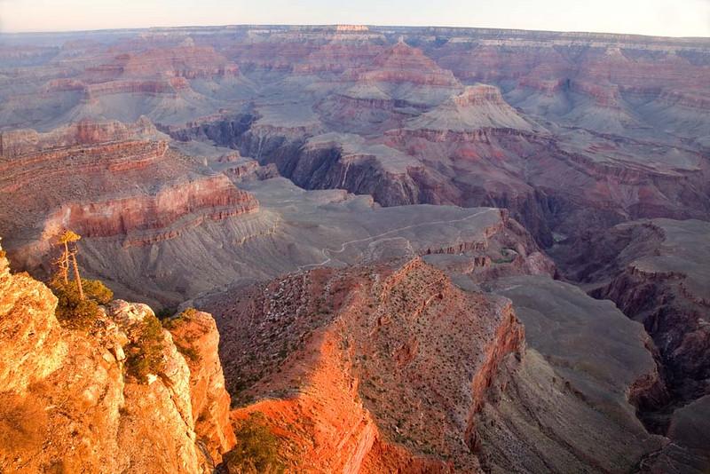 Sunrise at Yavapai Point, Grand Canyon NP