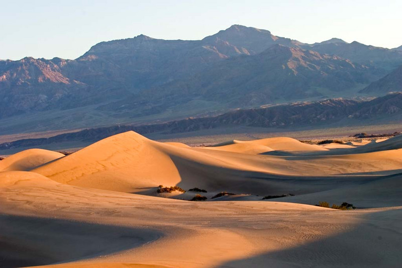 Sand dunes at Stovepipe Wells, Death Valley NP