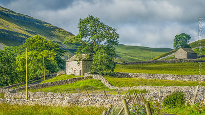 Barns above Arncliffe