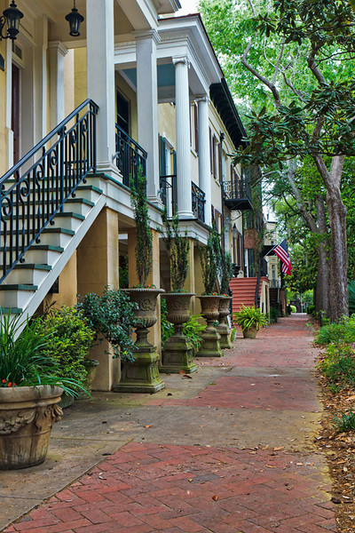 """Historic View""<br /> Historic District<br /> Savannah, GA"