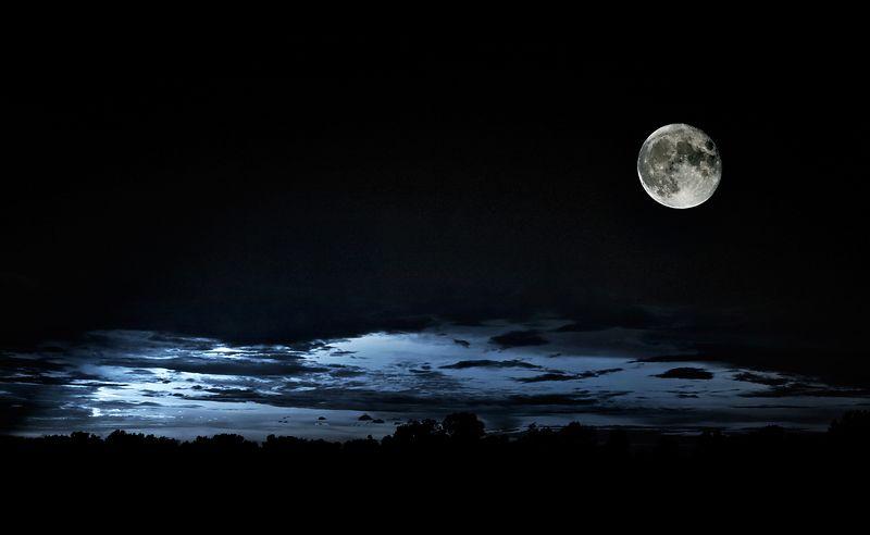 Badd Moon rising  lighting filter B&W blued  8280