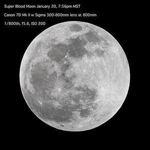 Super Blodd moon before eclipse 8534-