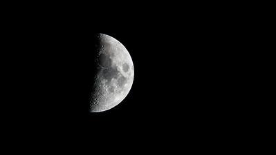 half moon at 1 500th f 63 ISO 2000  600mm Tamron  1DX Mk II -9420