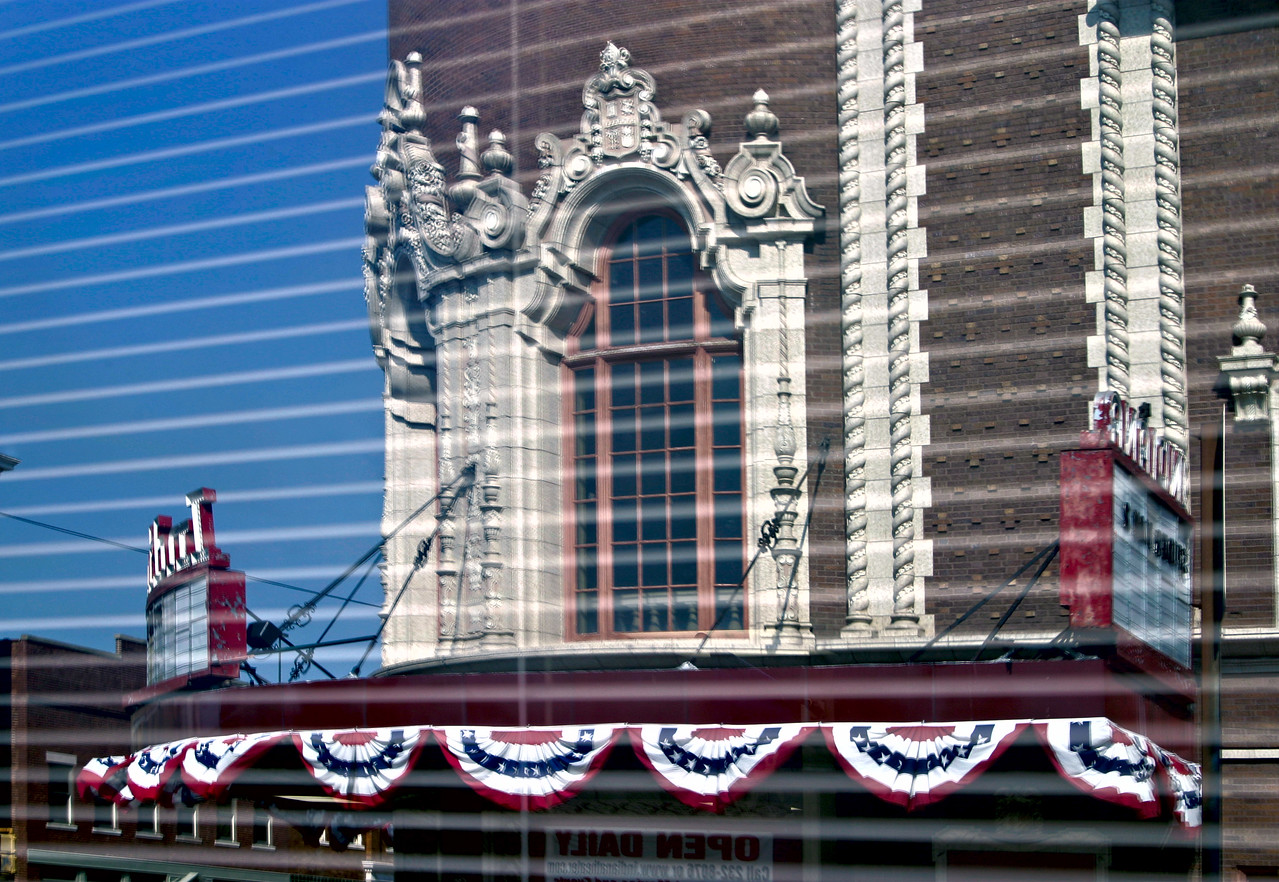 Indiana Theatre reflection 8083