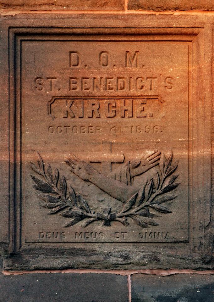 St Benedicts stone 7271