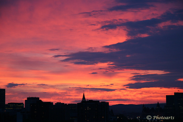 """Ottawa Sunset"""