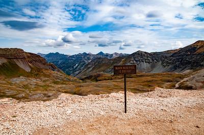 Black Bear Pass 12,840 Feet