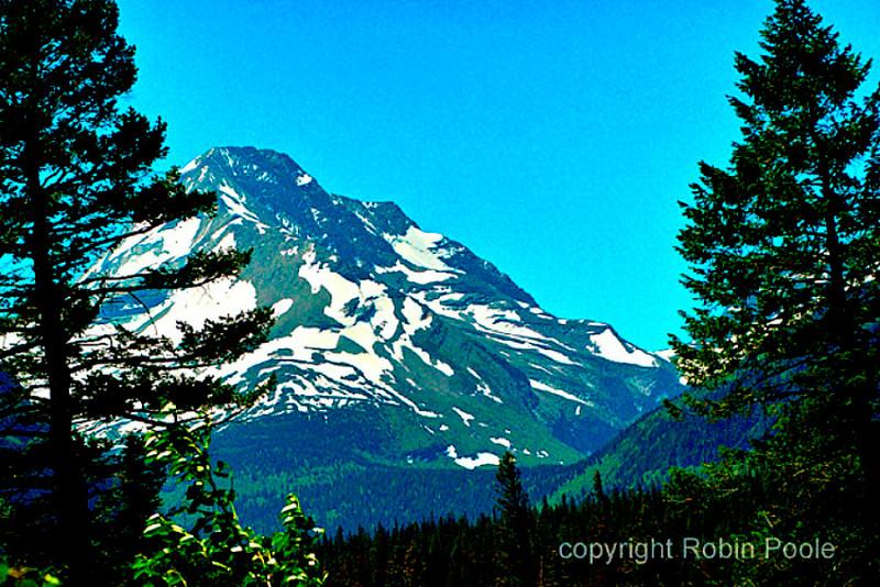 Gunsite Pass in Glacier National Park