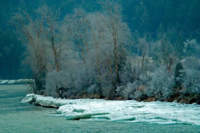 Winter on the Clark Fork