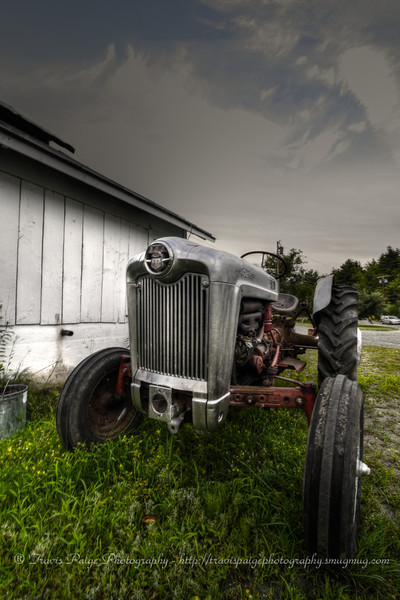 Old Tractor at Poverty Lane Orchards