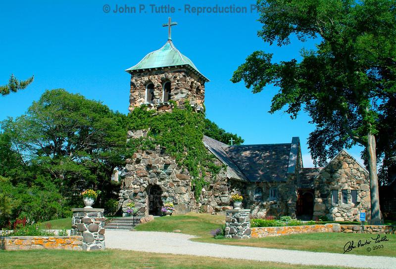Saint Ann's Church in Kennebunkport Maine