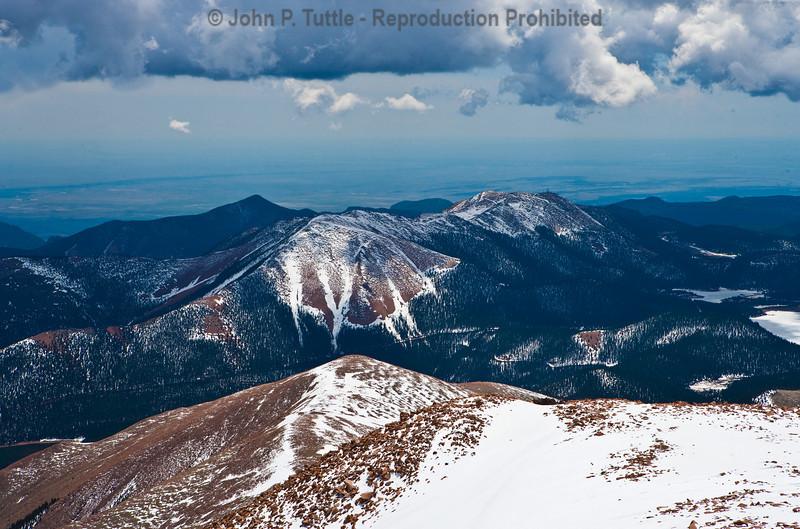 View from Pikes Peak Colorado Springs - Colorado 3