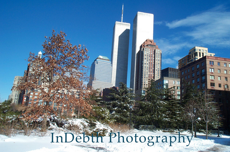 Hudson River - Winter Sky