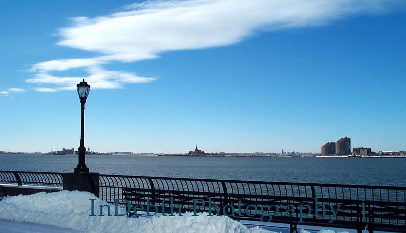 Hudson River - winter