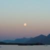Full moon over Prestfjorden