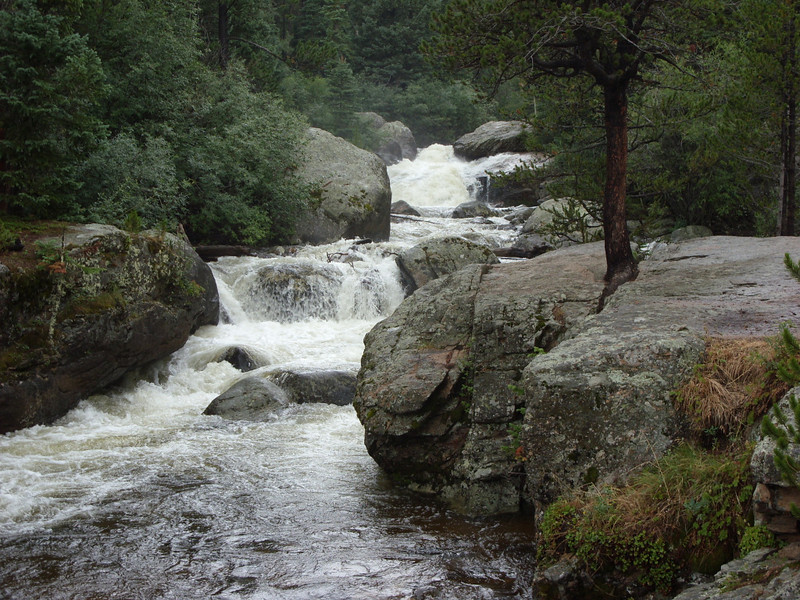 Closer to Upper Copeland Falls.