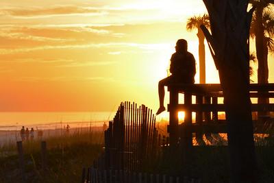 PCB Sunset