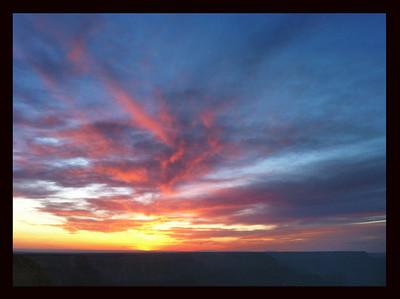 Grand Canyon Sunset (iphone image)