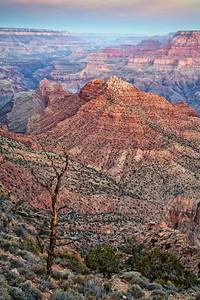 Grand Canyon before sunrise