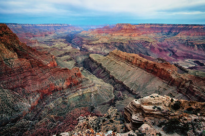 Grand Canyon 39 minutes before sunrise 3-26-13 at 6:05am