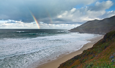 Rainbow Morning at Garrapata