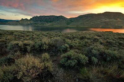 The Pinnacles Sunrise at Blue Mesa Reservoir