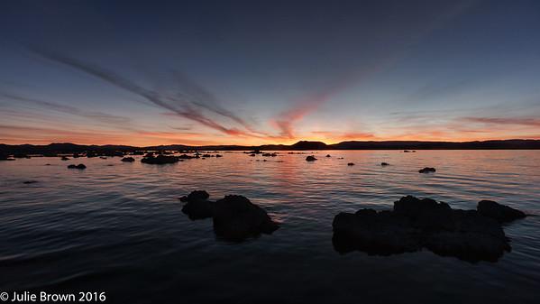 Mono Lake before sunrise