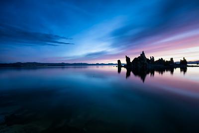 1440 Mono Lake South Tufa before sunrise 6:25am