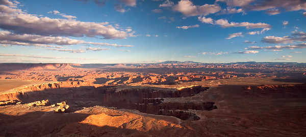 Clouds and Shadows over Canyonlands Grandview Point, Canyonlands NP Moab, Utah 10/12/11