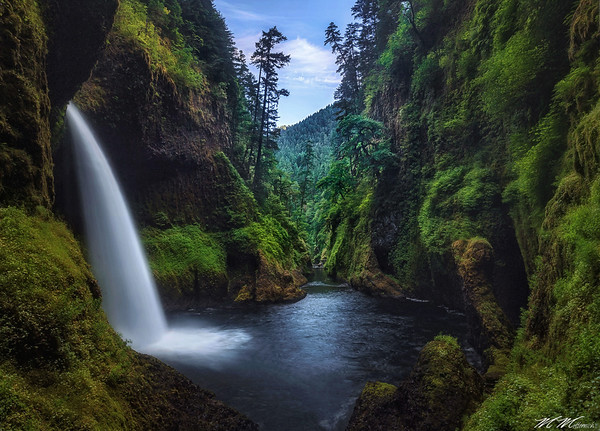 """New Take"" - Metlako Falls - Oregon"