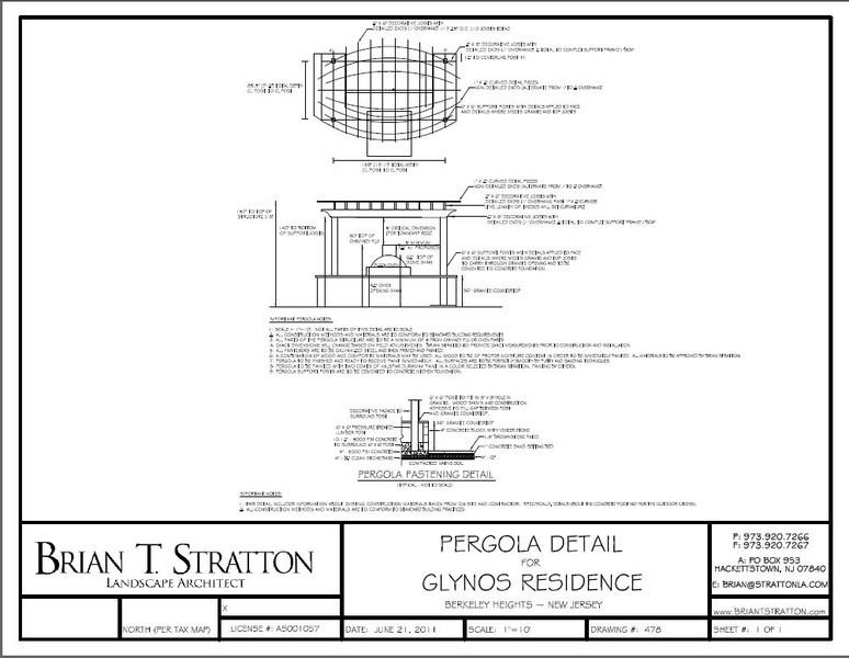 05- Pergola Details