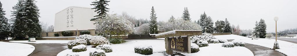 PUC Winter Snow