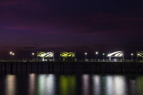 Redondo Beach Pier, Long Exposure