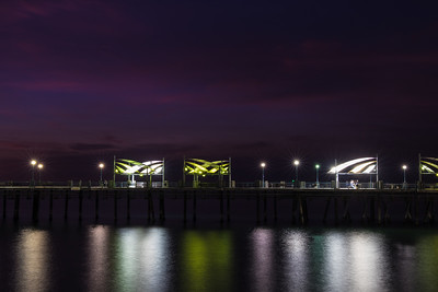 Redondo Beach Pier, Long Exposure