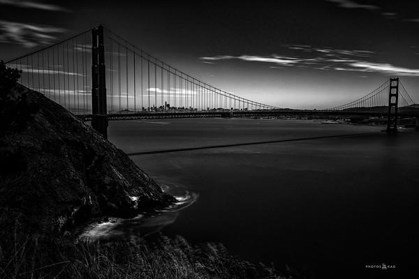 Golden Gate Bridge Long Exposure