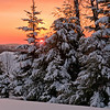 Sunrise over PA : winter morning sunrise