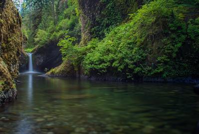 Punch Bowl Falls, Columbia Gorge, Oregon, USA
