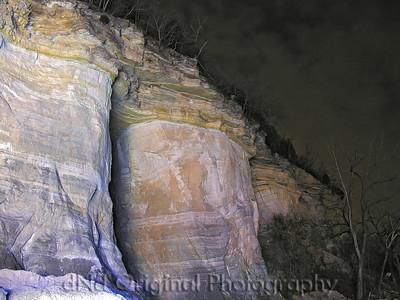 Nikon - Night Bluff Shots