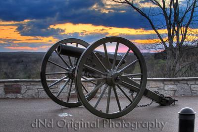 Pacific Missouri Bluff Cannon (hdr 4 image)
