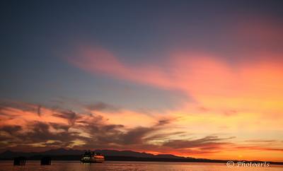 """Floating into Sunset"""