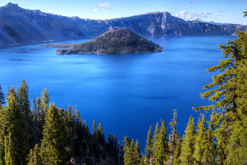 Wizard Island - Crater Lake National Park, OR