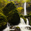Elowah Falls in the Spring, in the Columbia River Gorge, Oregon